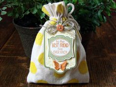 stampin up muslin bags - Google Search