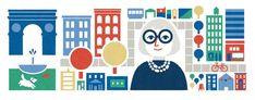 Los doodles de 'mujeres con ciencia':100 aniversario del nacimiento de Jane Jacobs
