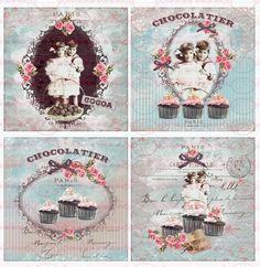 Möbeltattoo`s Nostalgie Shabby Transparent 1466 von Doreen`s Bastelstube  - Kreativ & Außergewöhnlich auf DaWanda.com