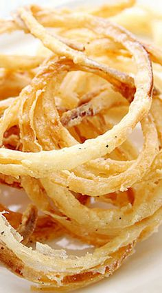 Onion Rings - Thin and Crispy
