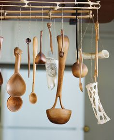 Enamelist June Schwarcz's handmade spoons are both useful and beautiful. Photo: Leslie Williamson