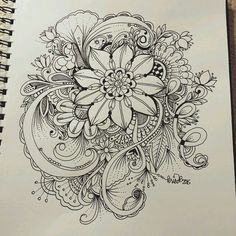 59 Ideas For Drawing Of Love Doodles Zentangle Patterns Zentangle Drawings, Doodles Zentangles, Zentangle Patterns, Doodle Drawings, Doodle Art, Tattoo Drawings, Tattoo Art, Zen Doodle, Bild Tattoos