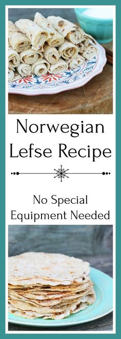 Norwegian lefse recipe - no special equipment needed! Get the recipe for this traditional Norwegian flatbread. Recipes steak Norwegian Lefse (Made In A Frying Pan) Norwegian Lefse Recipe, Norwegian Recipes, Swedish Recipes, Norweigan Food, Organic Dinner Recipes, Recipes Dinner, Norwegian Cuisine, European Cuisine, Norway Food