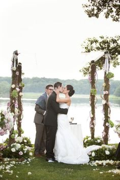 How cute is this arch!?