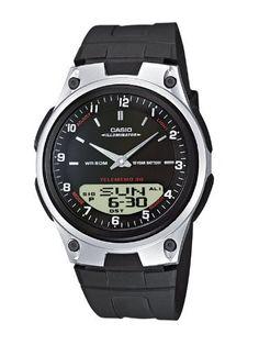 Vous recherchez une montre automatique ? Découvrez notre large sélection pour homme ou femme.  Casio - AW-80-1AVES - Montre Homme - Cadran Noir - Bracelet Résine Noir de Casio, http://www.amazon.fr/dp/B002JM1UV0/ref=cm_sw_r_pi_dp_eZGJrb0NJCJ4B