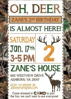 25+ best ideas about Hunting Birthday Parties on Pinterest | Hunting themes, Hunting theme parties and Deer hunting party