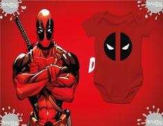 Na BABY BRUTTU você encontra body do Dead Pool, Capitão América, Batman, Robin e outros super-heróis.