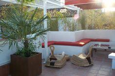 Detalle terraza. Diseño Carola Vives