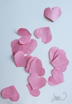 Paperisaippua, ystävänpäivä, huopa, kirjekuori, DIY, sydämet