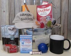 Cancer Gifts - Cancer Gift Baskets and Gifts for Men with Cancer. Get well gifts for cancer patients