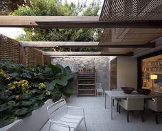 Private courtyard off bedroom