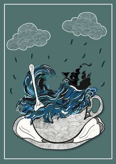 Storm in a Teacup by Lily Mizen