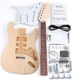 Guitar kits do it yourself guitar kits do it yourself pinterest rocktile st design e gitarre bausatz selber bauen do it yourself kit diy set solutioingenieria Choice Image