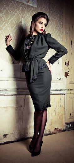 #TopStitch Vintage Fashion   Lena Hoschek - this jacket i so amazing