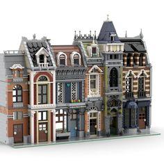 Lego Ninjago, Minifigures Lego, Lego Minifigure Display, Lego Duplo, Lego Winter Village, Lego Village, Minecraft Brick, Lego Minecraft, Lego Modular