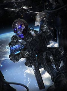 Cyber Reaper (Photo shopped with the features I wanted)