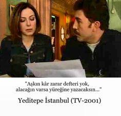 Yeditepe İstanbul dizisinden.. Zuhal Olcay ve Emre Kınay