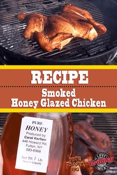 When we say that this honey glazed chicken recipe is easy, we truly mean it. When we say it's delicious, you bet we are. Honey Glazed Chicken, Sauce For Chicken, Bbq Chicken, Chicken Recipes, Pulled Chicken, Hot Sauce Recipes, Smoker Recipes, Grilling Recipes