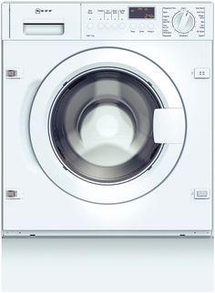 Neff - Waschvollautomat W5440X0,vollintegrierbar und ist 10% sparsamer als der Grenzwert (0.19kWh/kg) zur Energie-Effizien-Klasse A: braucht nur 0.17 kWh/kg im Normprogramm.