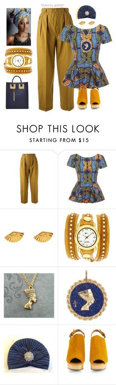 Outfit #51 by aprilhayes123 on Polyvore featuring Yves Saint Laurent, Rachel Comey, Sophie Hulme, La Mer and Coco's Liberty