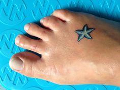 Small Starfish Tattoo
