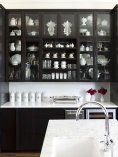Home Interior, Black Kitchen Cabinets, the Amazing Kitchen Interior Design that Forgotten: Design For Black Kitchen Cabinets Position