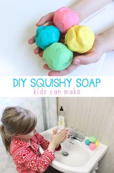 DIY Squishy Soap {only 4 ingredients!} | Mama.Papa.Bubba.