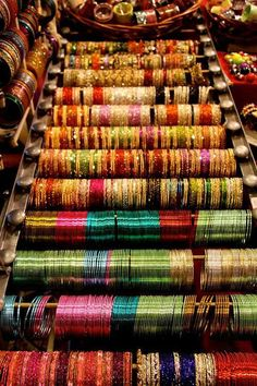 shopping for bangles in india - magical