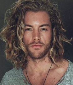 cool hairstyles for men with long hair #cool #hairstyles #men #ideas Shoulder Length Hair Men, Long Length Hair, Shoulder Hair, Mens Medium Length Hairstyles, Cool Hairstyles For Men, Boy Hairstyles, Long Haircuts For Men, Long Curly Hair Men, Long Hair Cuts