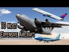 Top 10 Expensive Aircraft in the world_Most Expensive Planes