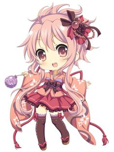 cute,girl,chibi
