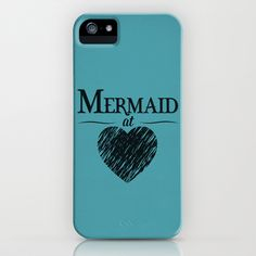 Mermaid+at+Heart+iPhone+&+iPod+Case+by+Emily+Anne+Design+-+$35.00.... Love this!.... Somebody pretty please get this for me!!!