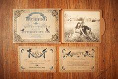 Creative wedding invites