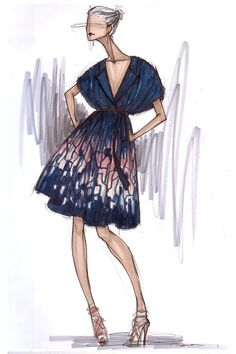 STYLEeGRACE ❤'s this fashion illustration!