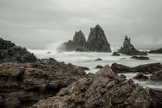 Camel Rock Bermagui on a Gloomy Day
