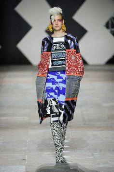 Louise Gray London Fashion Week Autumn Winter 2012 2013