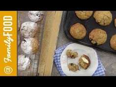Well Worn Whisk: a family food blog by Rachel Brady: Video: Apple, blueberry and oat muffins