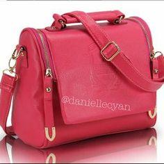 Handbags - Last one Pink insignia bag-high quality