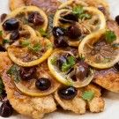 Chicken Scallopini With Lemons And Olives