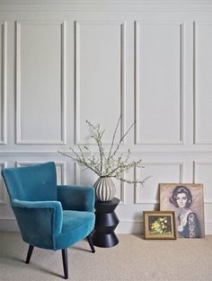 DIY Starter Kit: The Basic Tools That You Need To Own — MELANIE LISSACK INTERIORS Living Room Panelling, Wall Panelling, Wall Pannels, Paneling Walls, Modern Wall Paneling, Paneling Ideas, Bedroom Wall, Bedroom Decor, Interior Walls