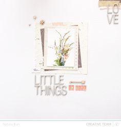 the little things by natalia at @Studio_Calico