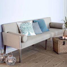 sitzbank, gepolstert | essbank | pinterest - Danish Design Wohnzimmer
