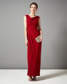 Bridesmaid Dresses | Red Lyla Maxi Dress | Phase Eight