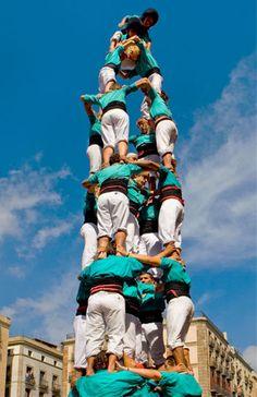 Castellers de Vilafranca.