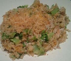 Healthy Chicken Broccoli and Brown Rice Casserole Recipe