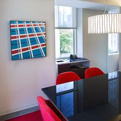 #Gensler is featuring the #art of #artist Vivien Abrams Collens throughout our office for the next t - gensler_nyc  #viviencollens