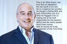 """Sleaford Mods on Twitter: """"Philip Green, clear foe. Peerless example of life's enemy."""""""