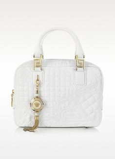 46a8caefbe Versace Micro Vanitas Demetra Quilted Leather Bag. Signature dust bag  included. Made in Italy