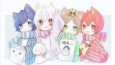 Anime Chibi, Kawaii Anime, Chibi Boy, Cute Chibi, Kawaii Art, Anime Art, Manga Cute, Cute Anime Boy, Vocaloid