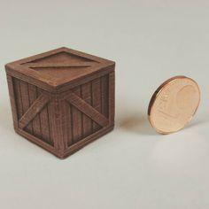 Finished printed and painted. Fertig gedruckt und bemalt. #3dprintking #box #kiste #miniature #miniatur #modelmaking #modellbau #3dprint #3dprinting #3dprinted #3ddruck #3ddrucken #3dgedruckt by 3dprintking